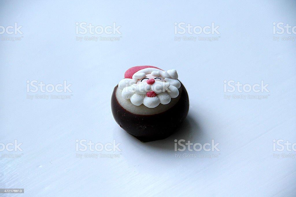 Cioccolato Santa foto stock royalty-free