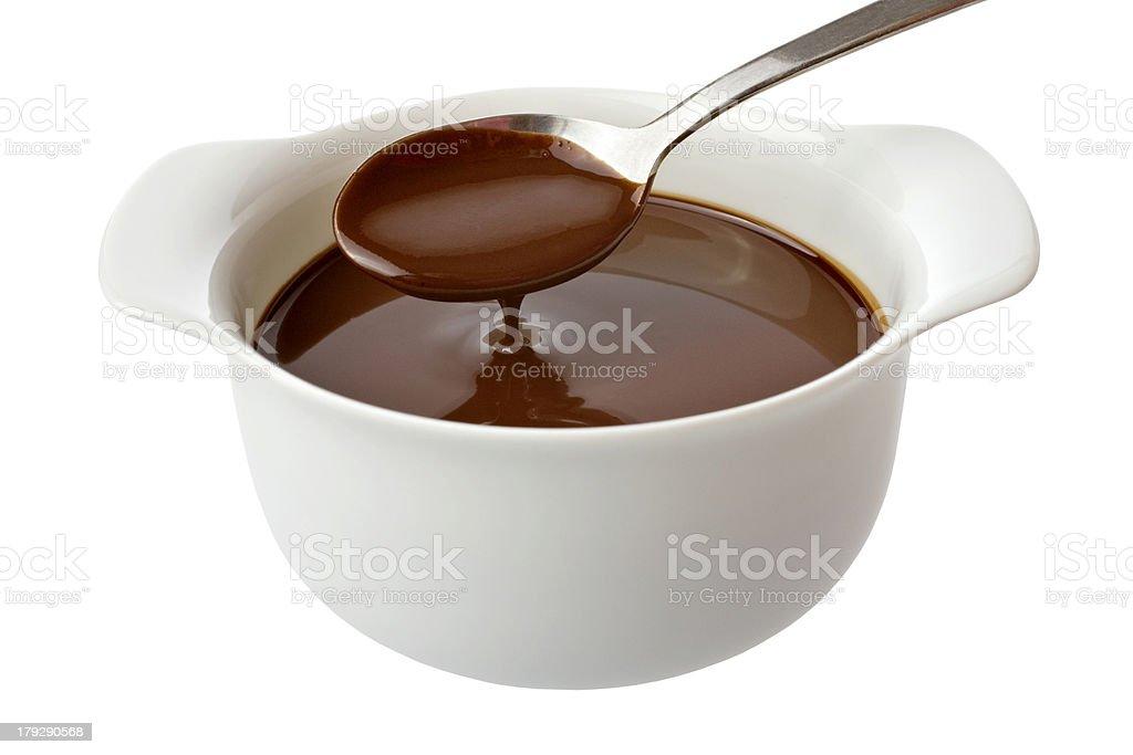 Chocolate Sauce royalty-free stock photo
