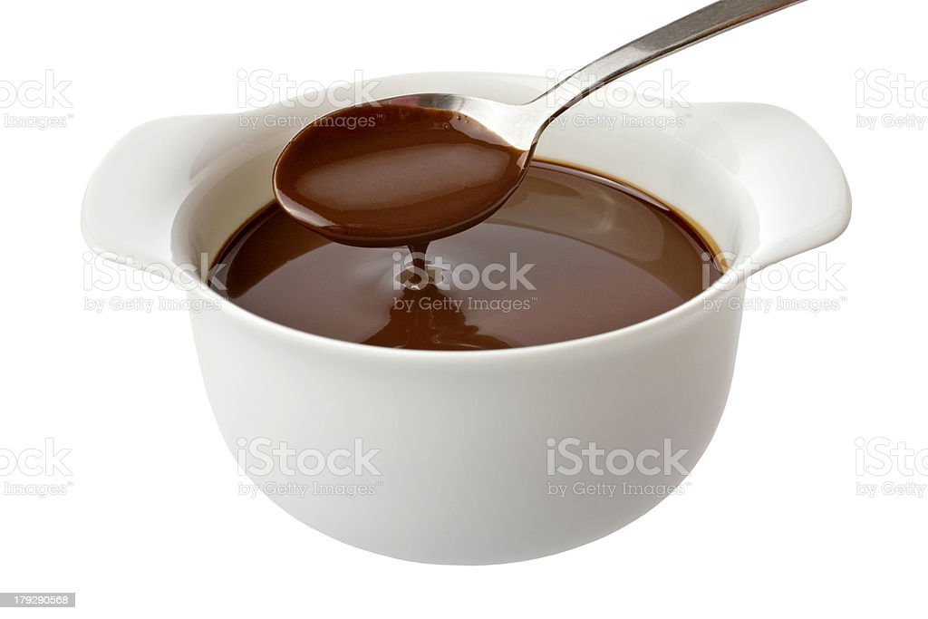Chocolate Sauce stock photo