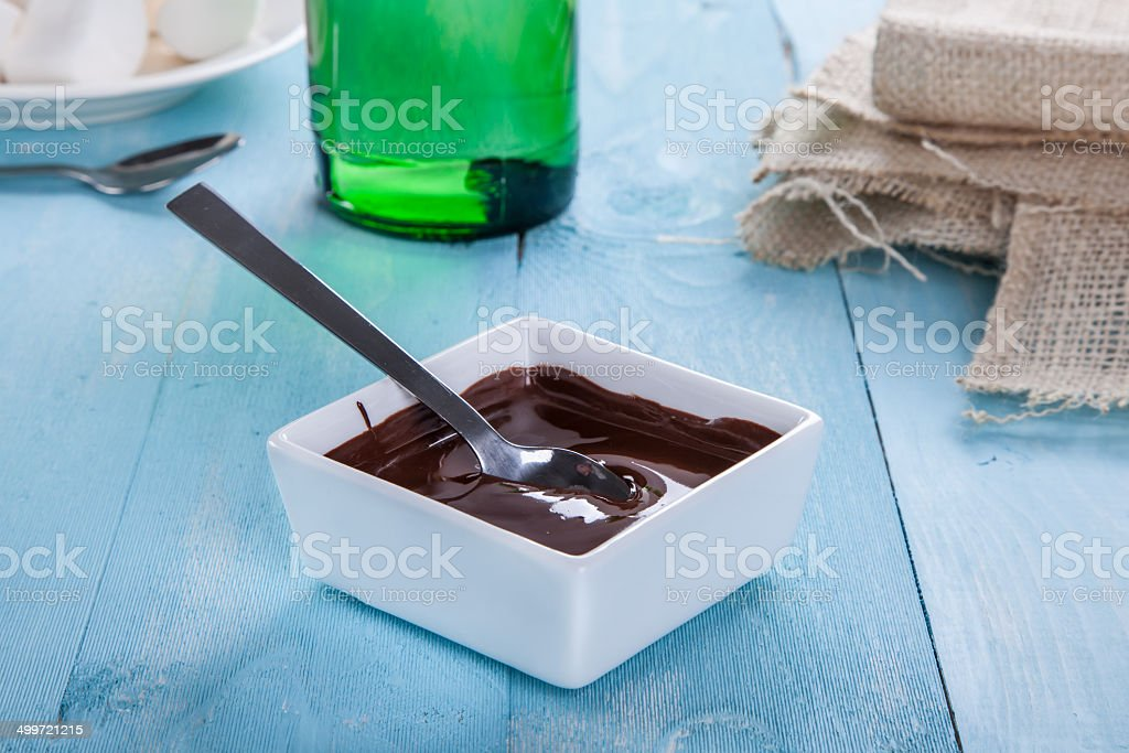 Compota de Chocolate foto de stock libre de derechos