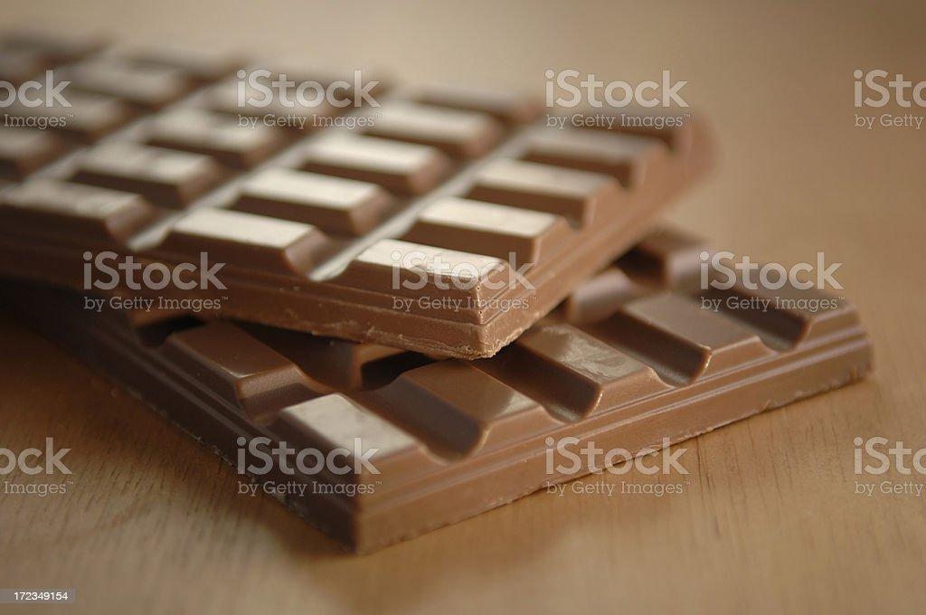 chocolate series stock photo