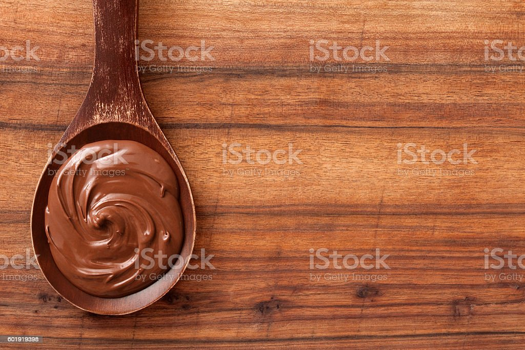 Chocolate spread stock photo