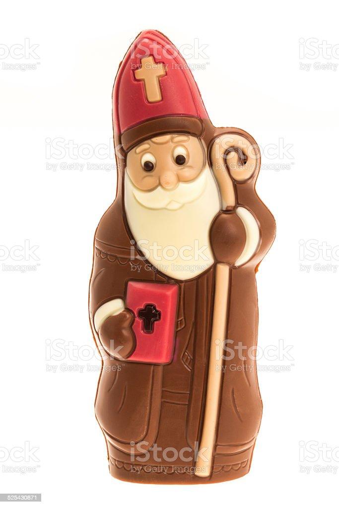 Chocolate St. Nicholas stock photo