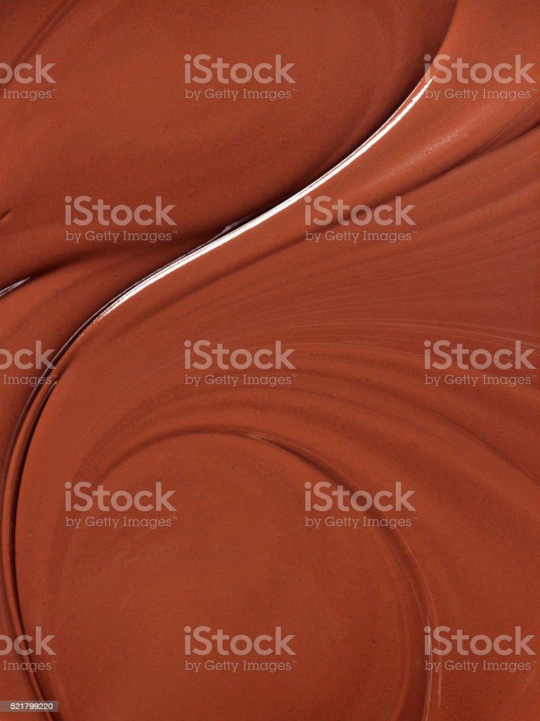 Chocolate Swirl stock photo
