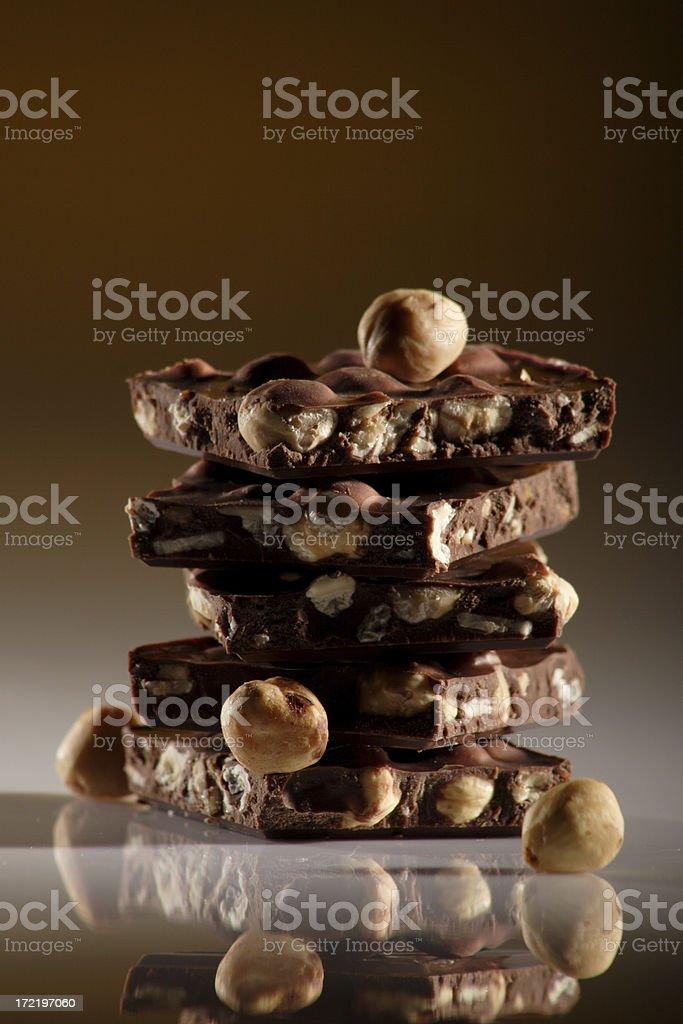 Torre di cioccolato foto stock royalty-free