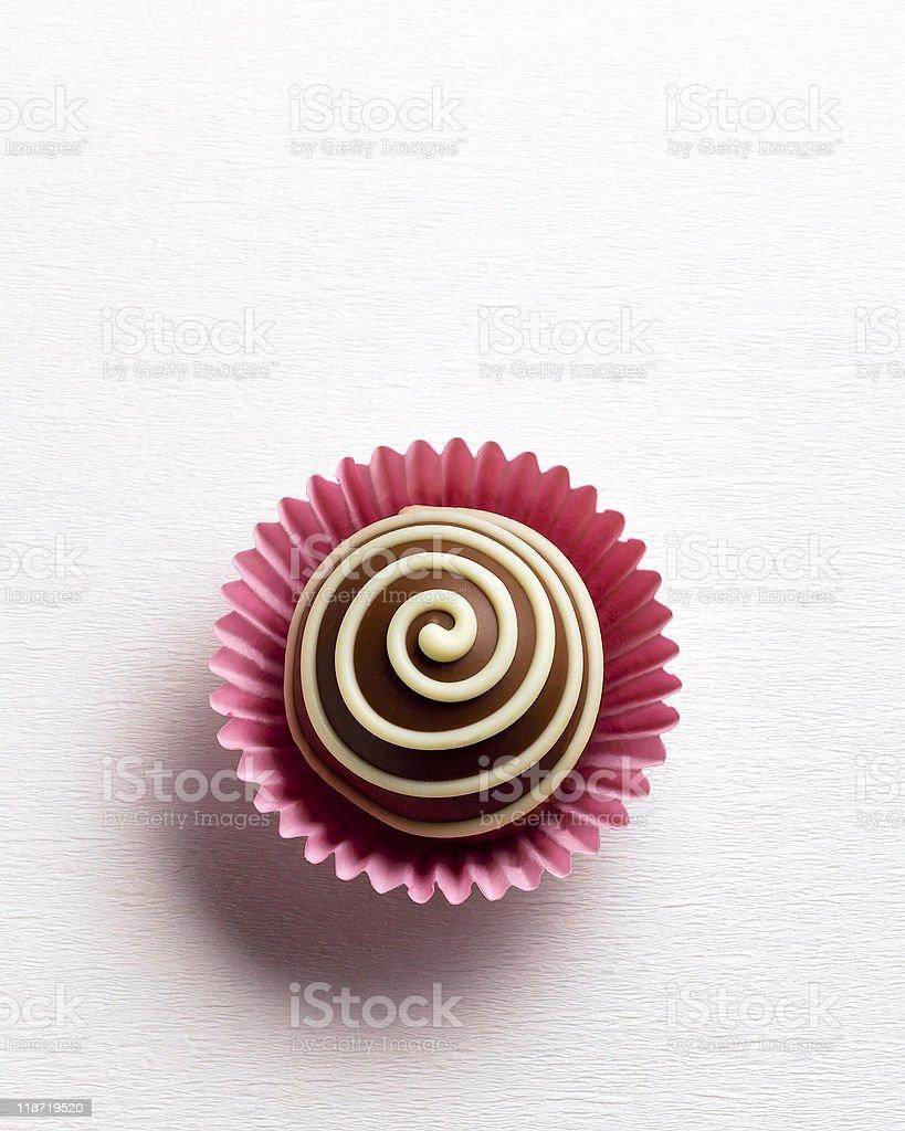 chocolate truffle royalty-free stock photo