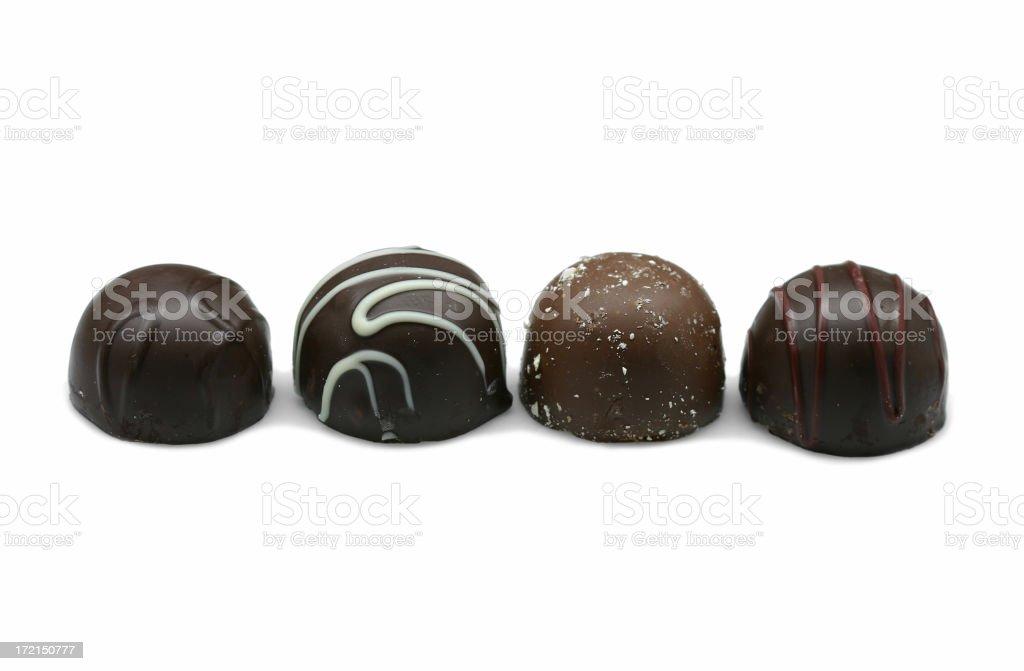 chocolate truffles royalty-free stock photo