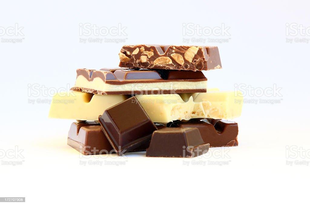 chocolate variety royalty-free stock photo