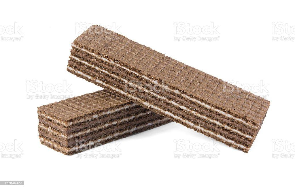 Chocolate wafers royalty-free stock photo