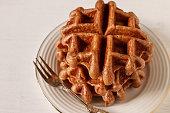 chocolate waffle.
