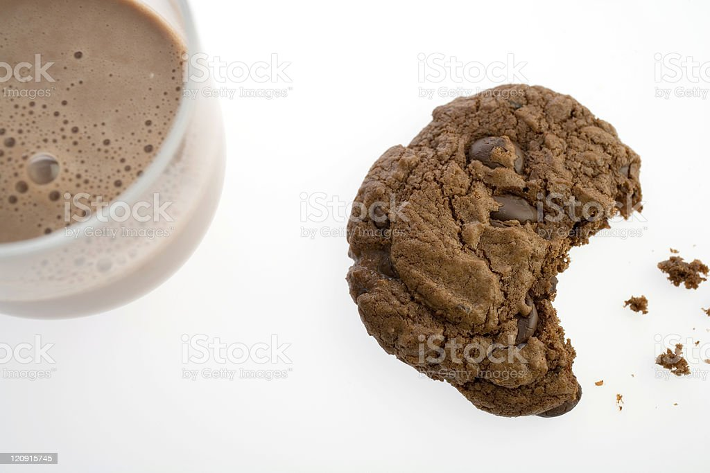 ChocolateCookie-01 royalty-free stock photo