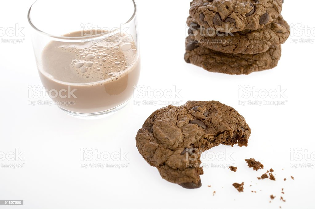 ChocolateCookie-21 royalty-free stock photo
