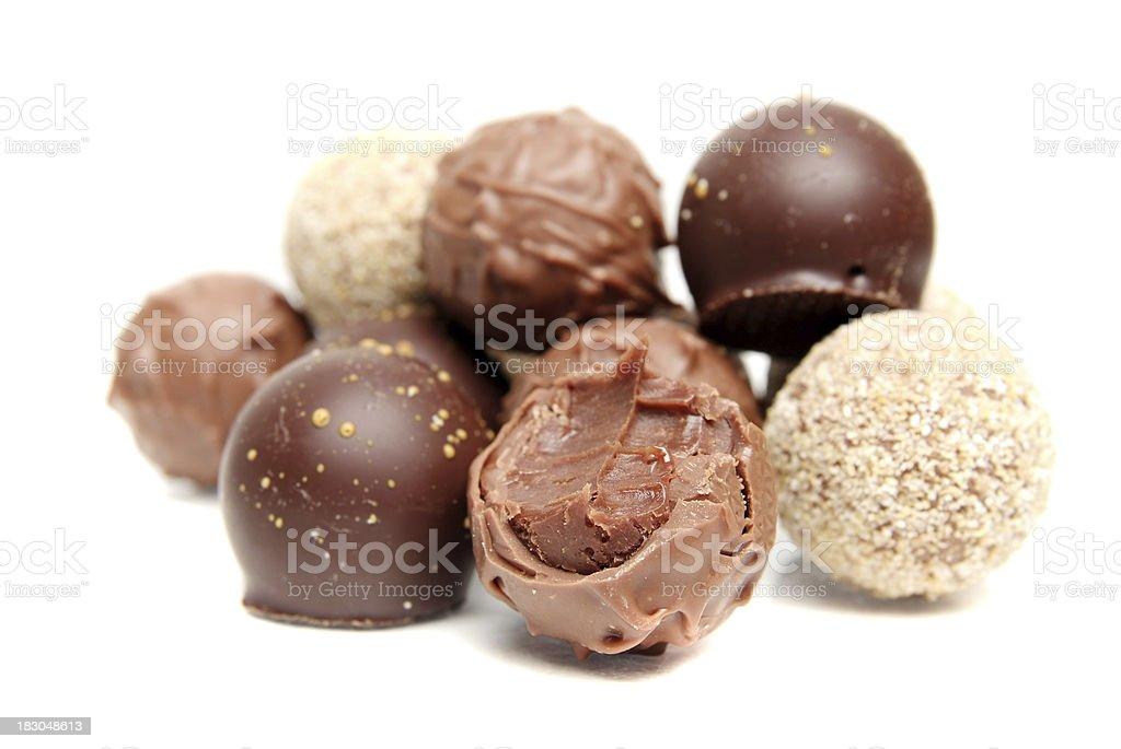 Chocolates royalty-free stock photo