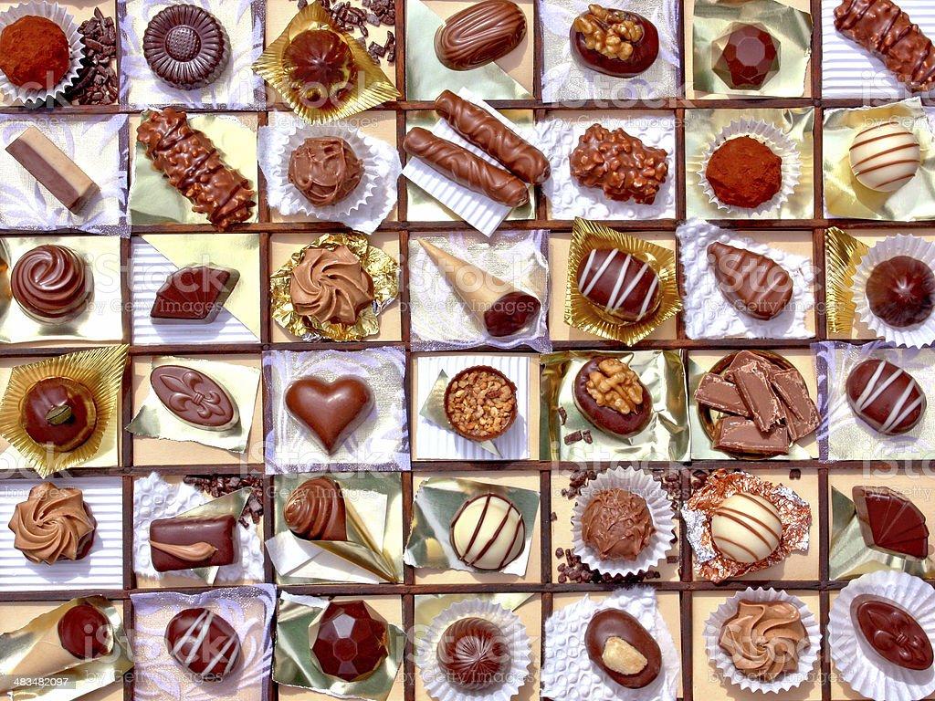 Des chocolats photo libre de droits