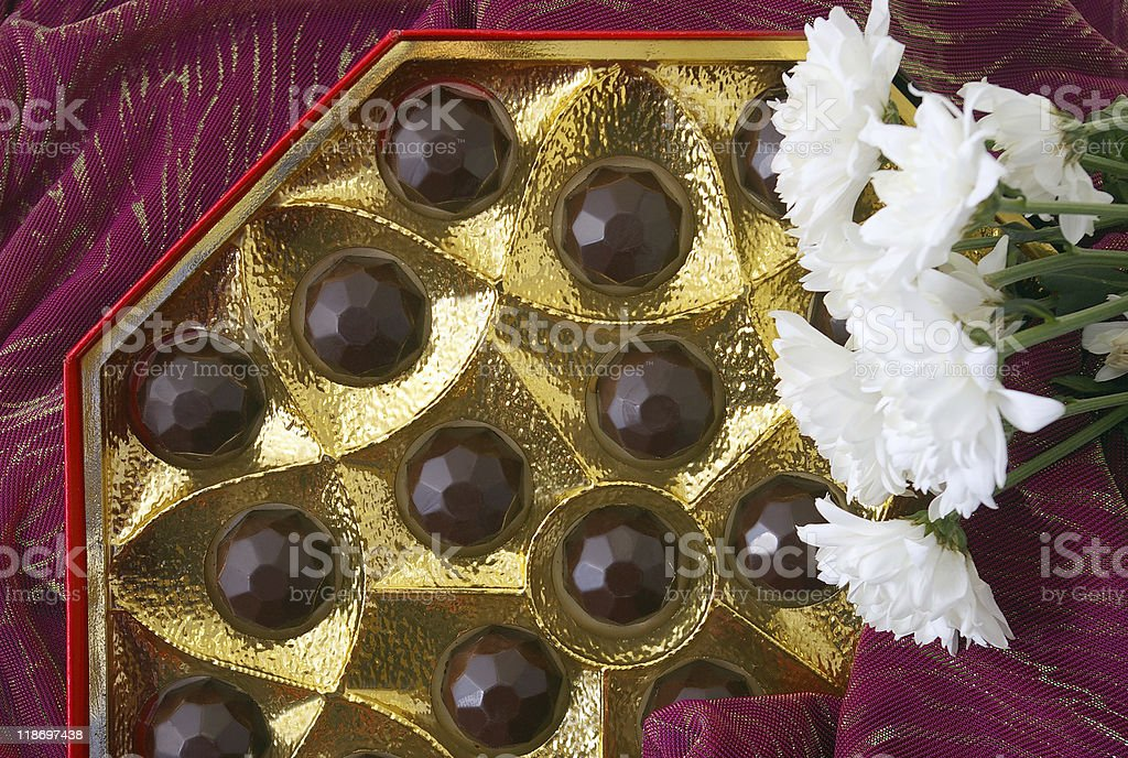 chocolates still-life royalty-free stock photo