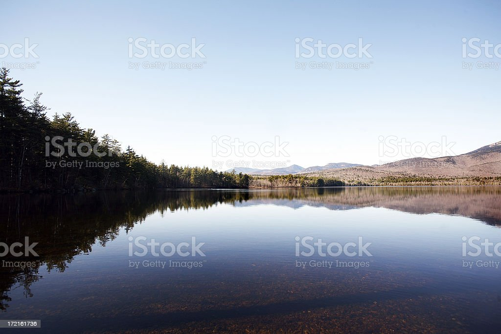 Chocorua Lake stock photo
