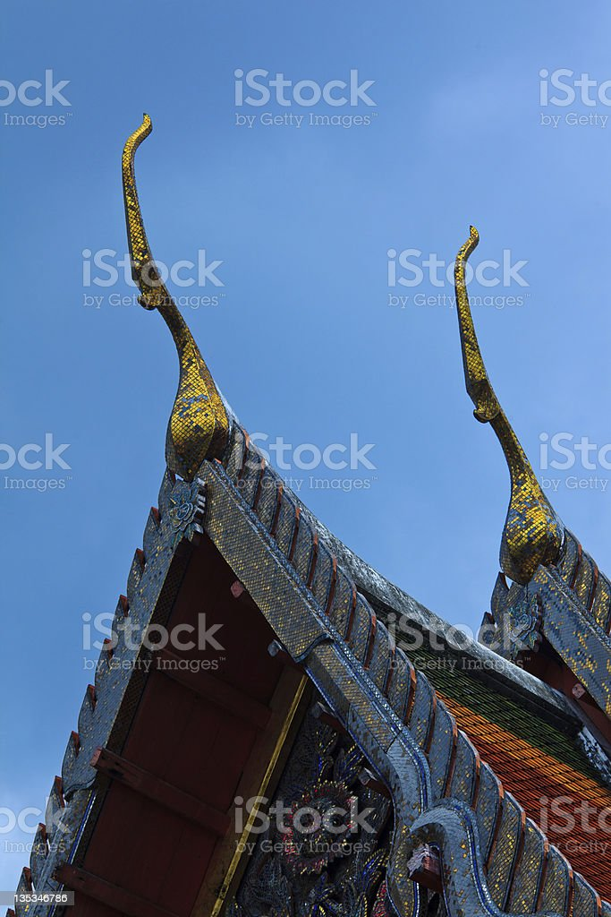 Chofa on Roof Tops royalty-free stock photo