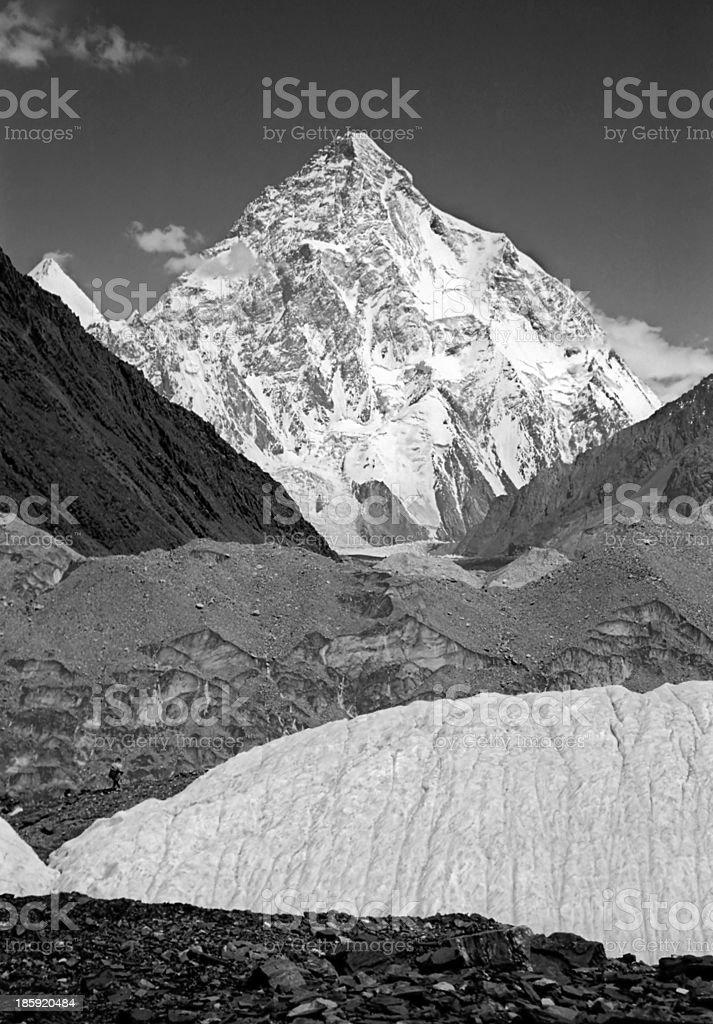 K2, Chogori peak stock photo