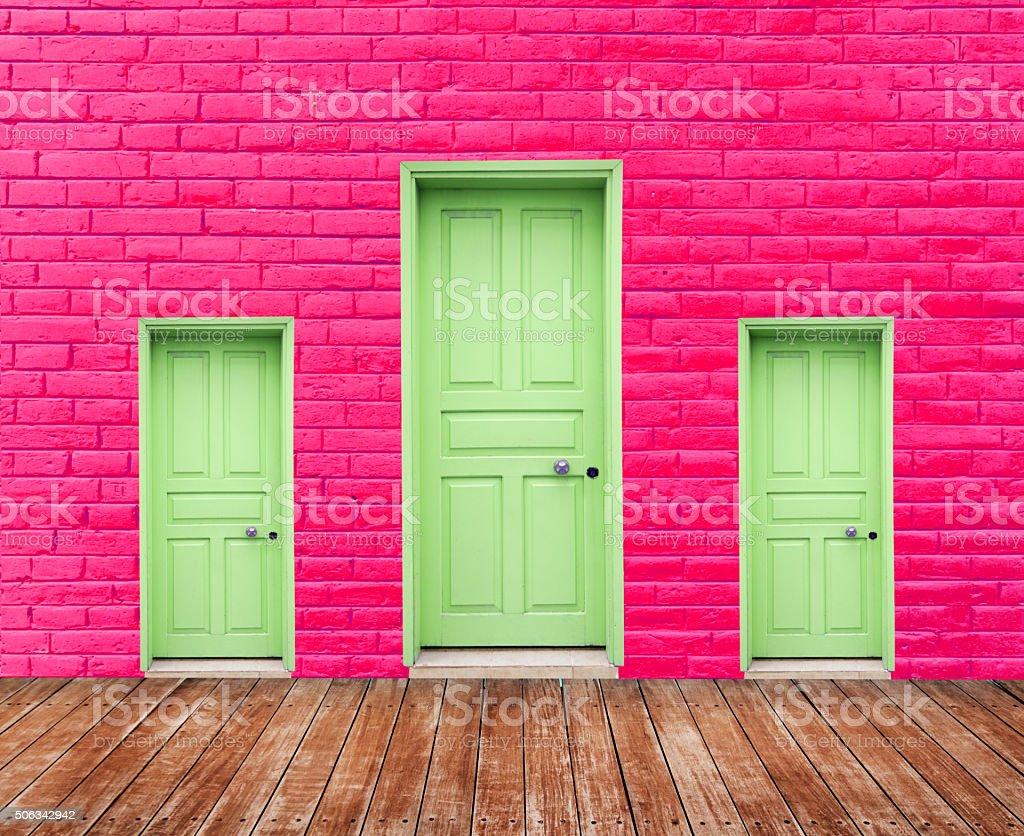 Choice Doors stock photo