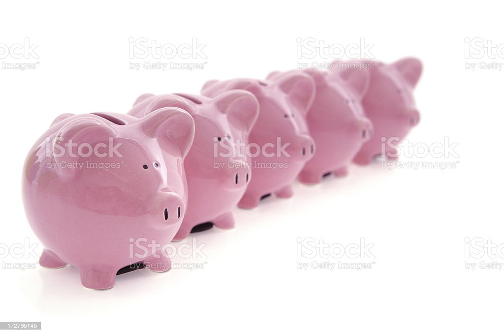 Choice of Investments royalty-free stock photo