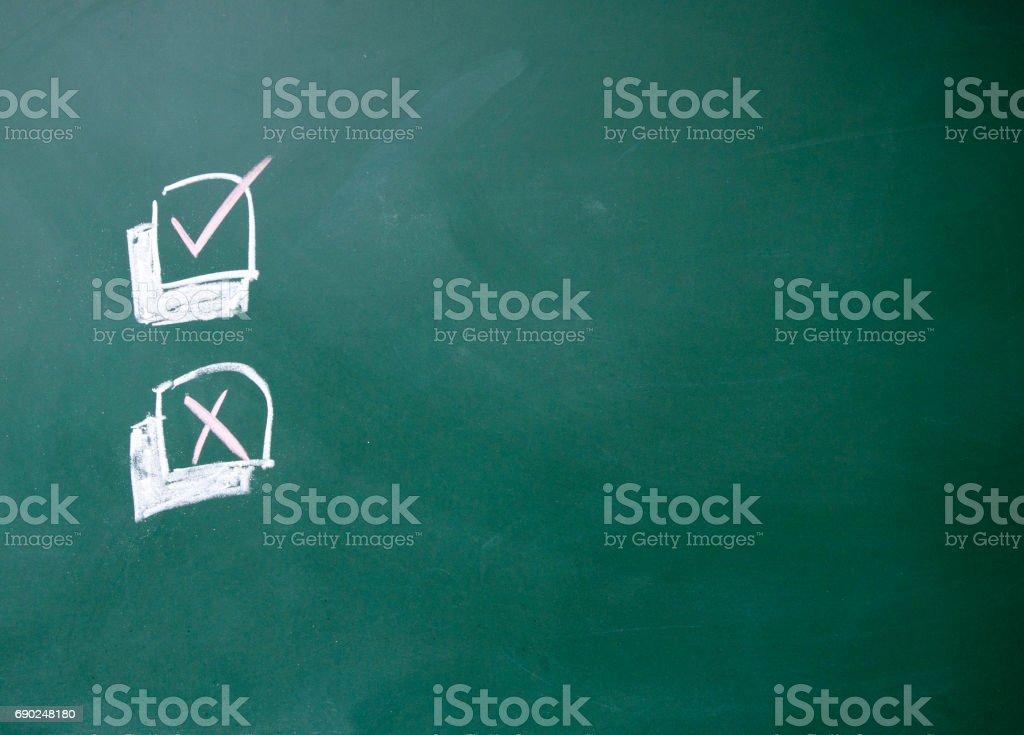 choice sign stock photo