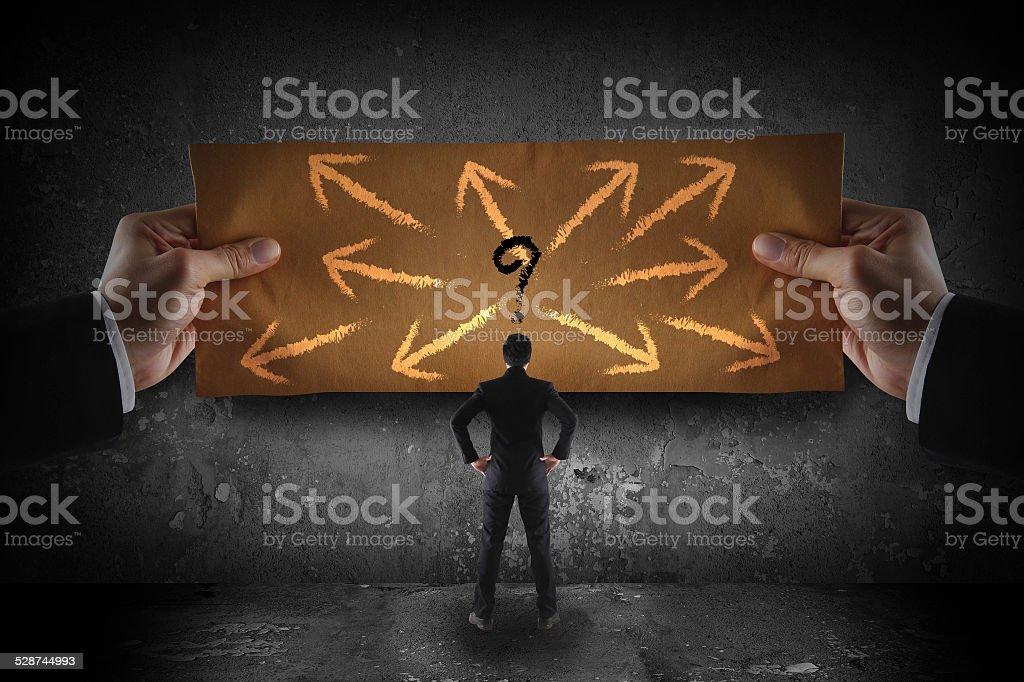 choices concept stock photo