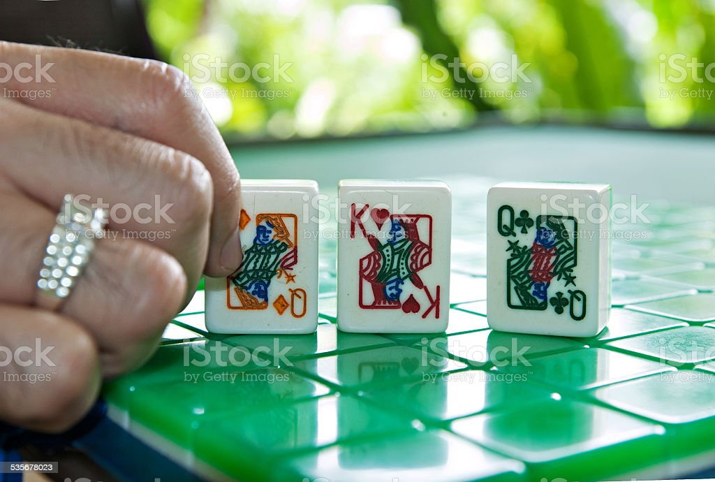 Choices for a King of queens stock photo