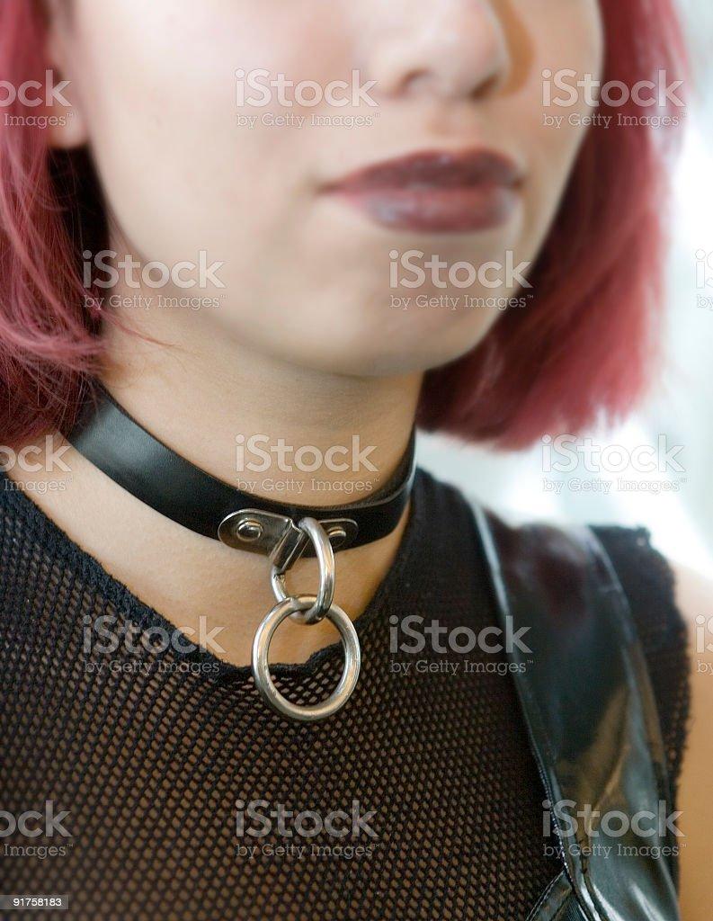 Choke Collar royalty-free stock photo