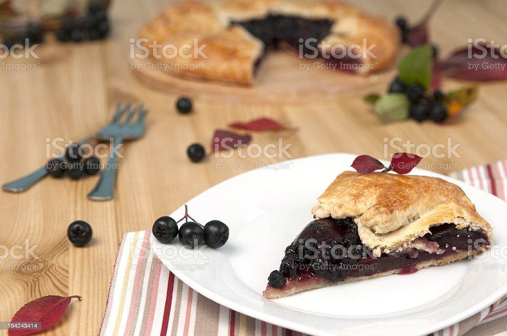 chokeberry Tarte photo libre de droits
