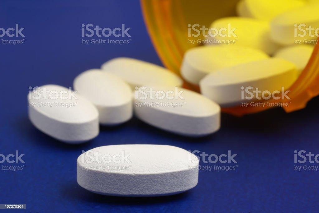 cholesterol lowering pills royalty-free stock photo