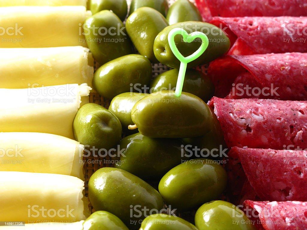 Cholesterol royalty-free stock photo