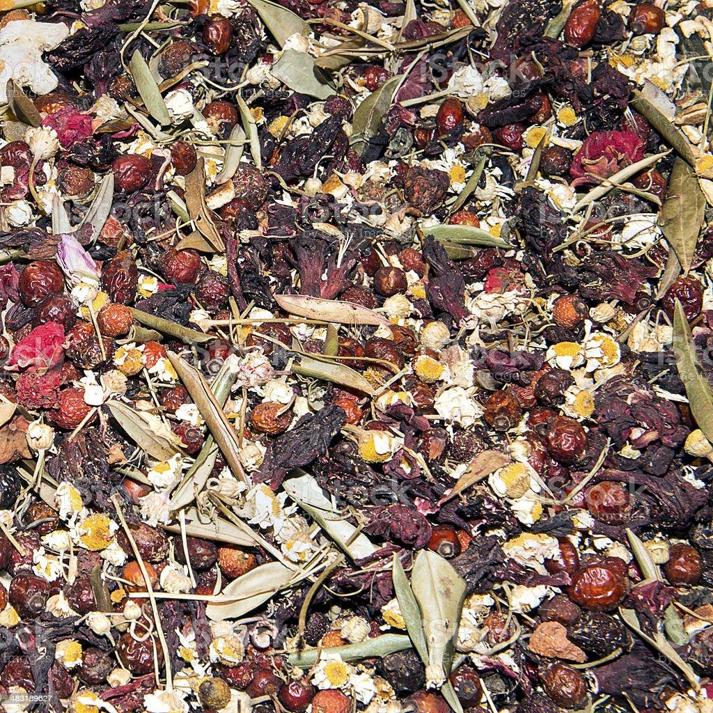 Cholesterol Tea royalty-free stock photo