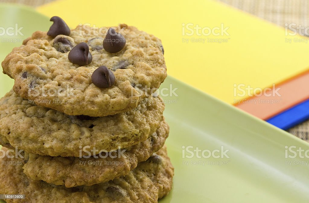 chololate chip cookie royalty-free stock photo