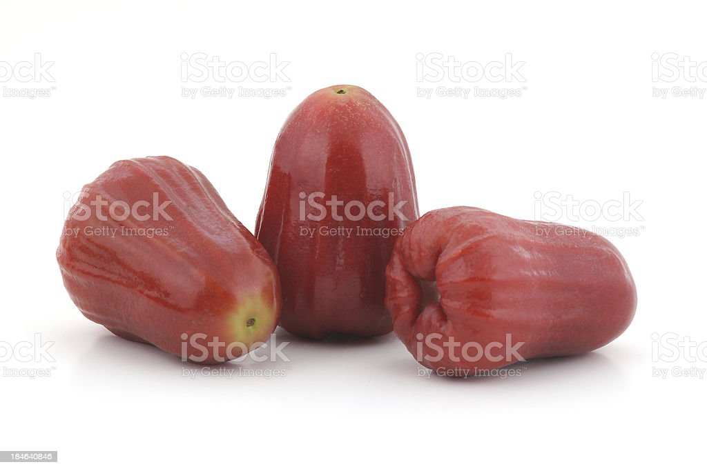 Chomphu or Rose Apple, Thai Fruit stock photo