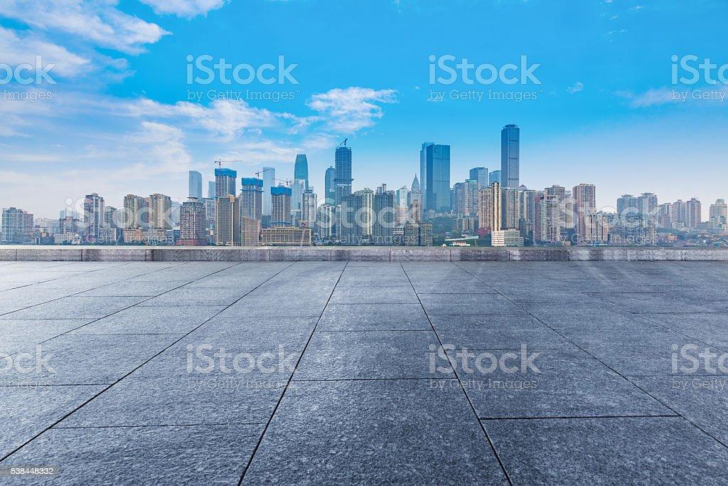 chongqing cityscape stock photo