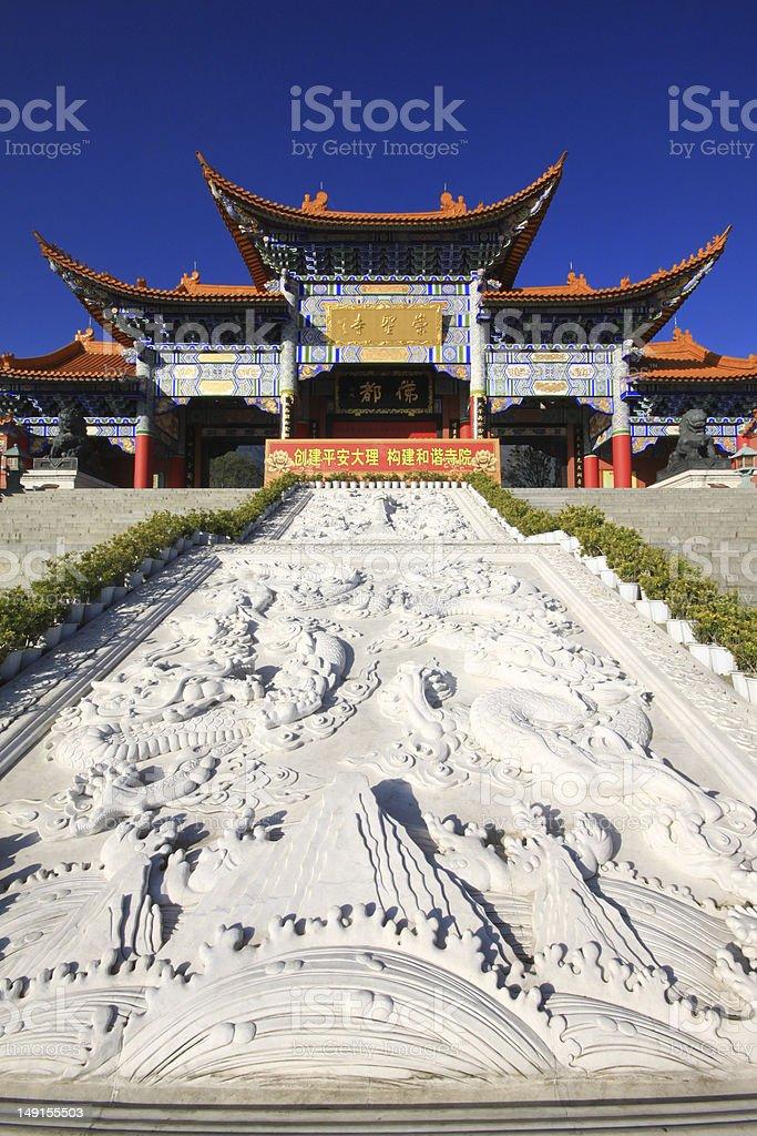 Chongsheng Temple stock photo