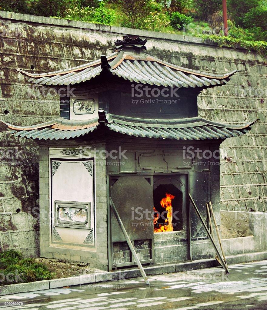 Tempio Chongsheng foto stock royalty-free