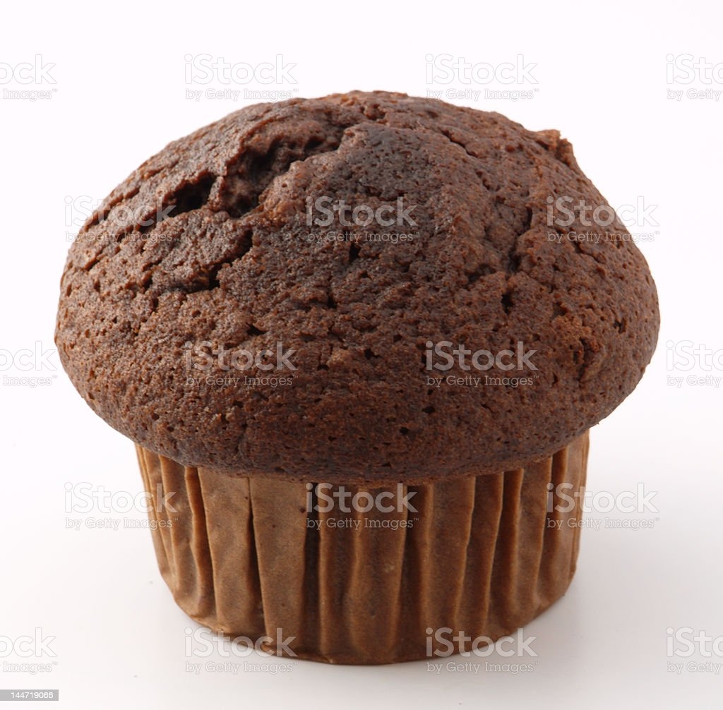choсolate muffin royalty-free stock photo