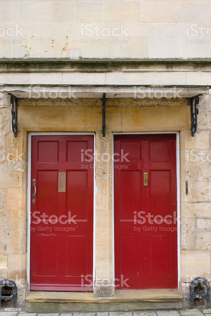 Choose a door... royalty-free stock photo