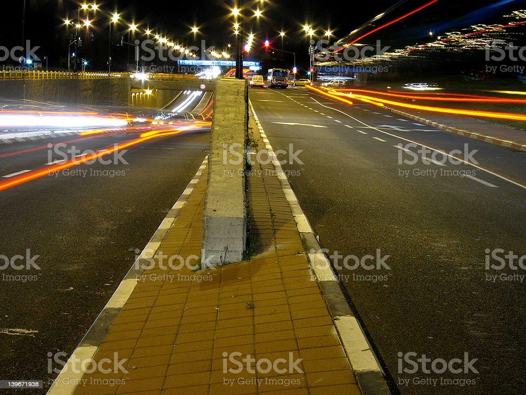 Choose a lane stock photo