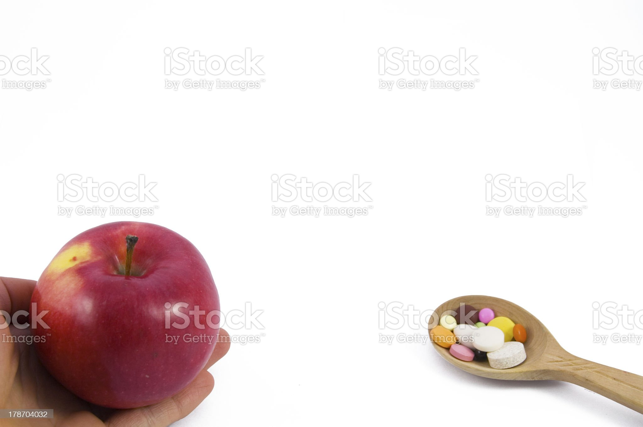 Choose right royalty-free stock photo