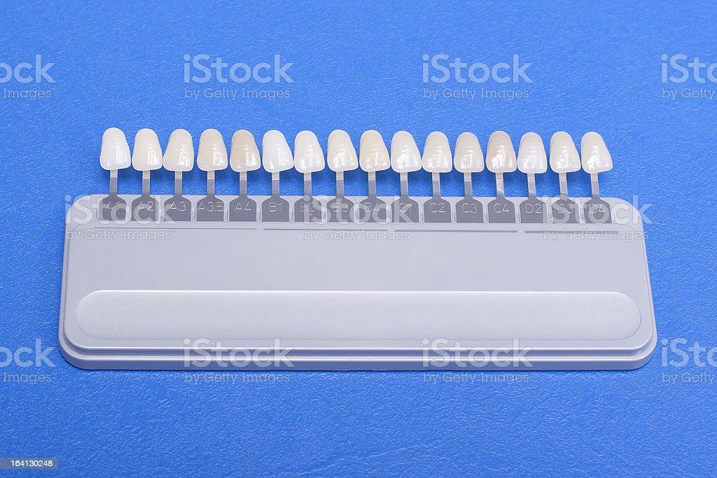 choose white of teeth stock photo