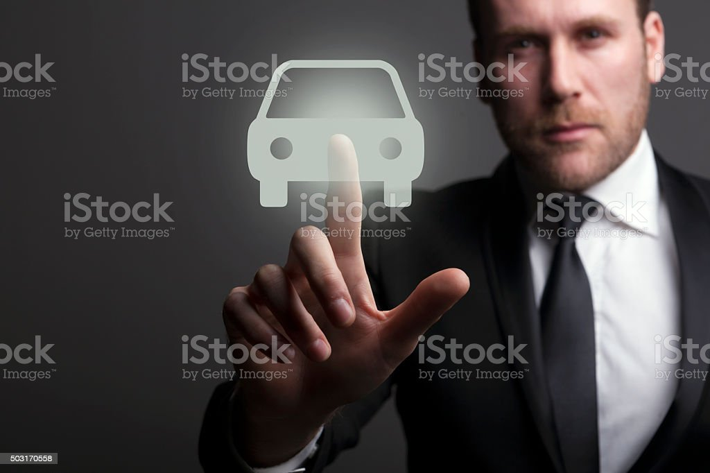 Choose your car stock photo