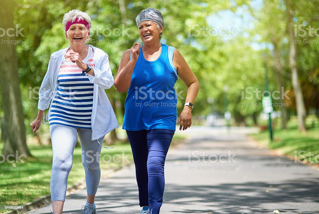 Choose your fitness goals and get going stock photo