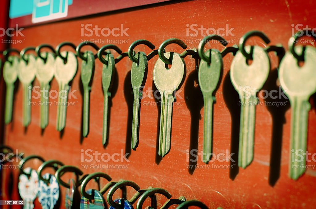 Choose your key royalty-free stock photo