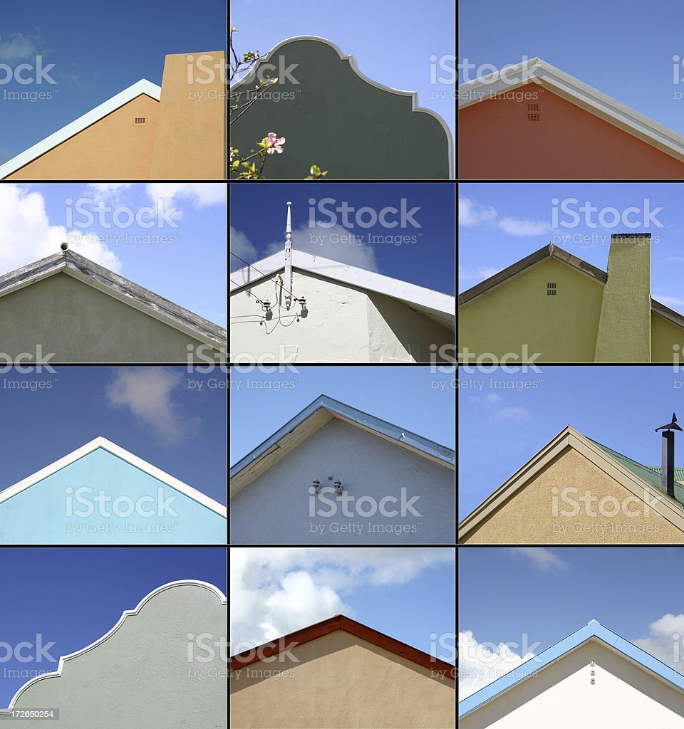 Choose your Roof royalty-free stock photo