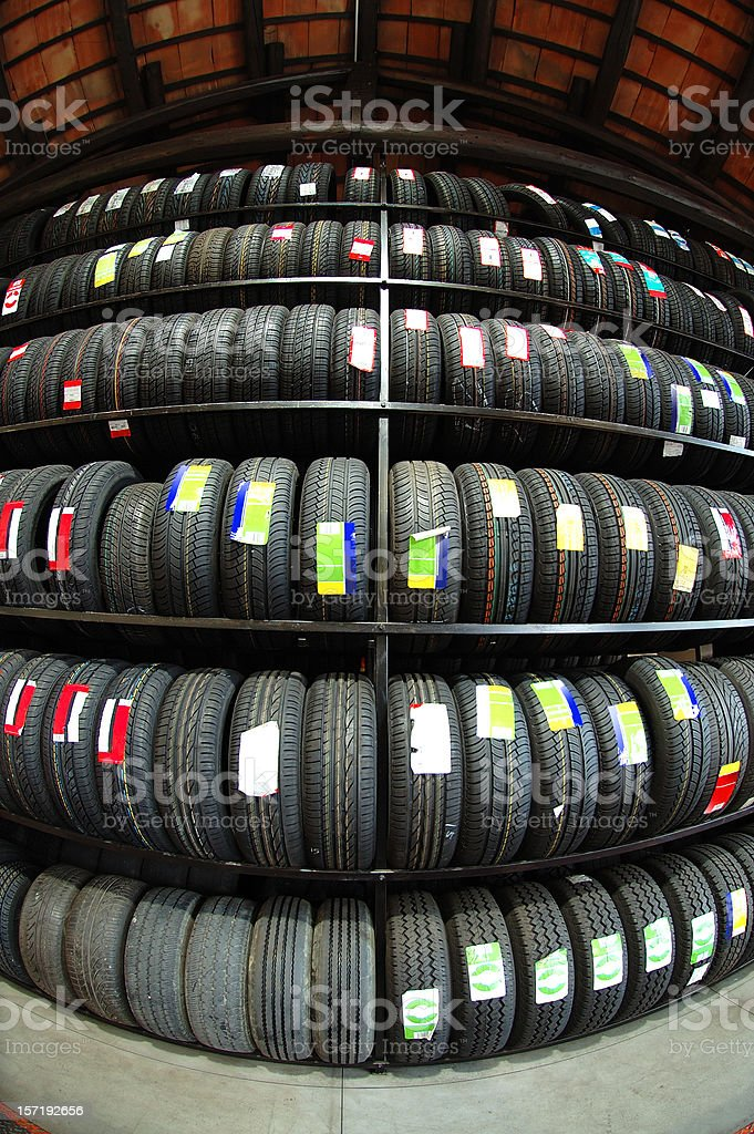 Choose your tyre royalty-free stock photo