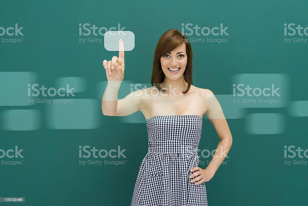 Choosing my digital media stock photo
