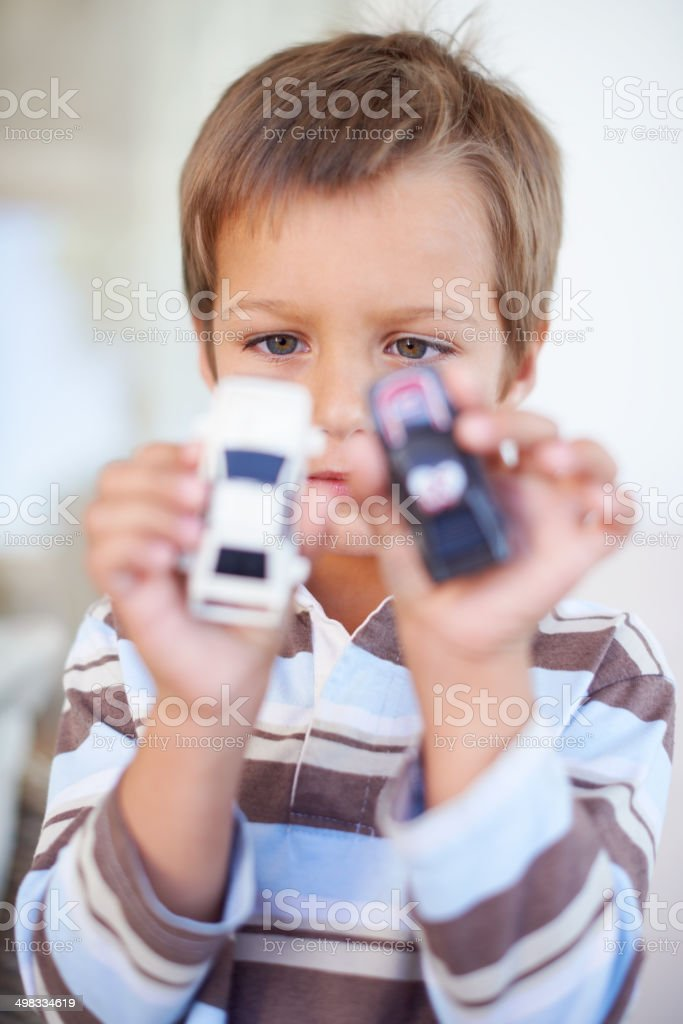 Choosing the perfect car is a big deal stock photo