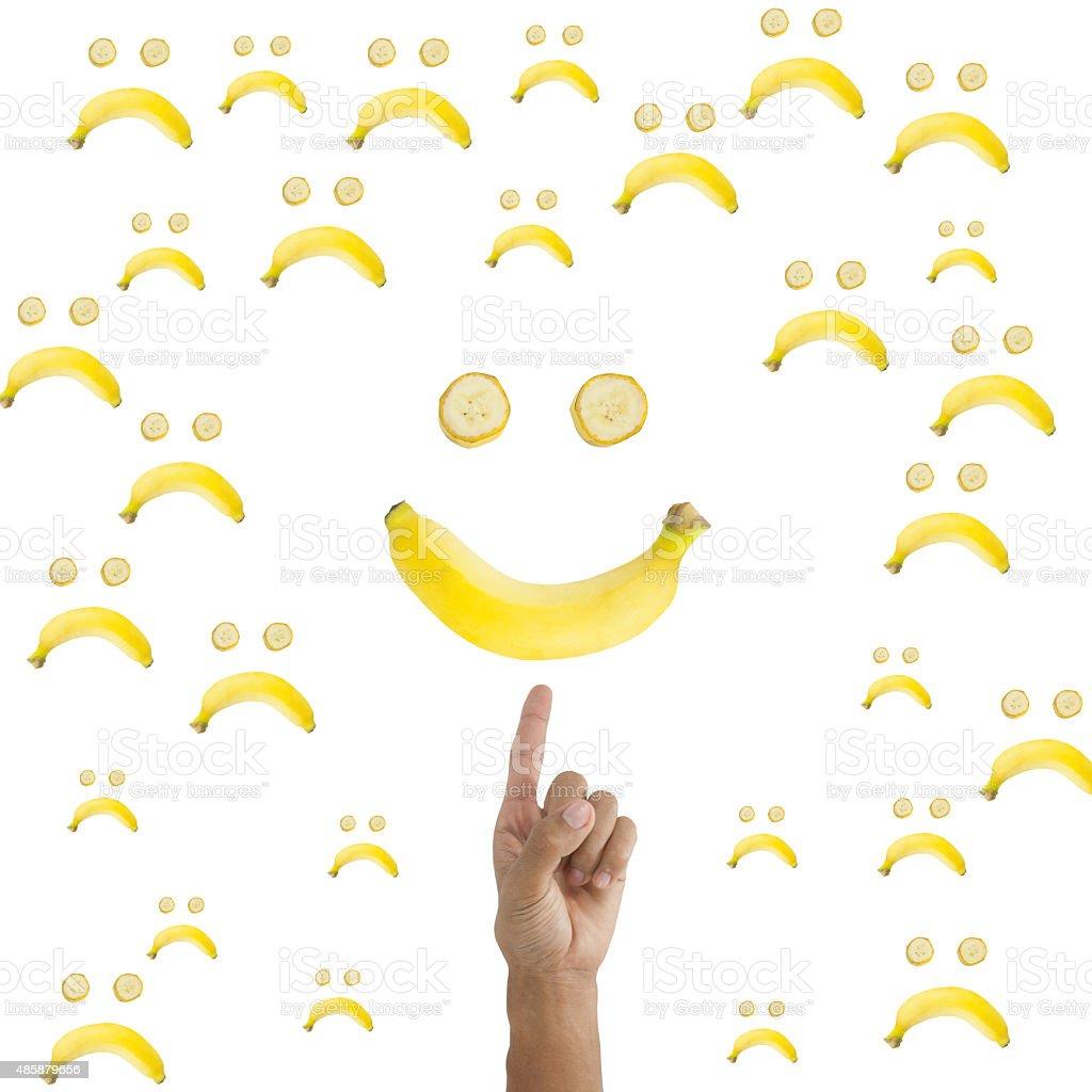 Choosing to Smile stock photo
